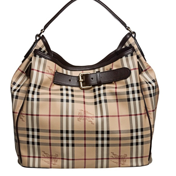 2563f4bfb328 Burberry Handbags - Burberry Haymarket Medium Walden Handbag